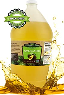 Healthy Harvest Non-GMO Avocado Oil - Great for Sauces And , Cooking, Frying and More - Nutritious And Rich With Anti-Oxidents (1 gallon)