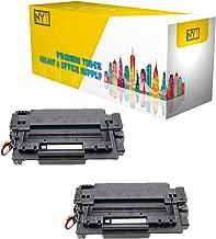 New York Toner New Compatible 2 Pack Q7551A High Yield Toner for HP - Laser Jet: LaserJet M3027 MFP | LaserJet M3027x MFP | LaserJet M3035 MFP | LaserJet M3035xs MFP | LaserJet P3005 . --Black