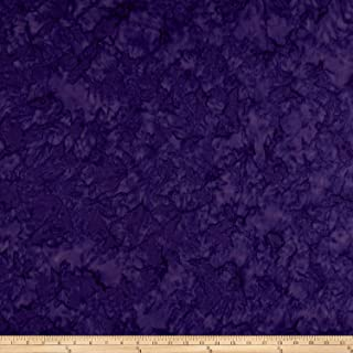 Wilmington Prints Purple Wilmington Batiks Rock Candy Abstract Fabric by The Yard