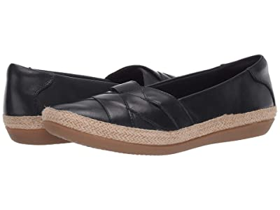 Clarks Danelly Shine (Navy Leather) Women