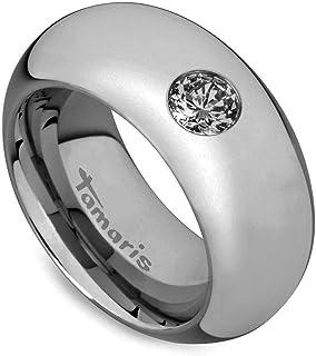 Tamaris Jewelry Sandy Ring Edelstahl vergoldet mit Glasstein  A0711102-5