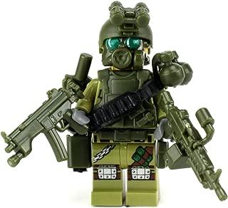 Battle Brick Custom Special Forces Commando (SKU27) Custom Minifigure