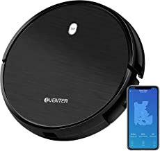 Robins Vacuum Cleaning Robot with Intelligent Technology Multifunction Dual Mode, 4 Extra Side Brushes, Remote Control Dock Station and Manuals for Kitchen/House Cleaning