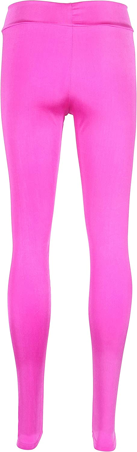 Smile Fish Womens Neon Leggings Seamless Stretchy Tights for 80s Costume Party