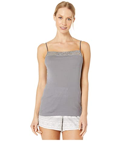 Hanro Moments Spaghetti Camisole (Smooth Grey) Women