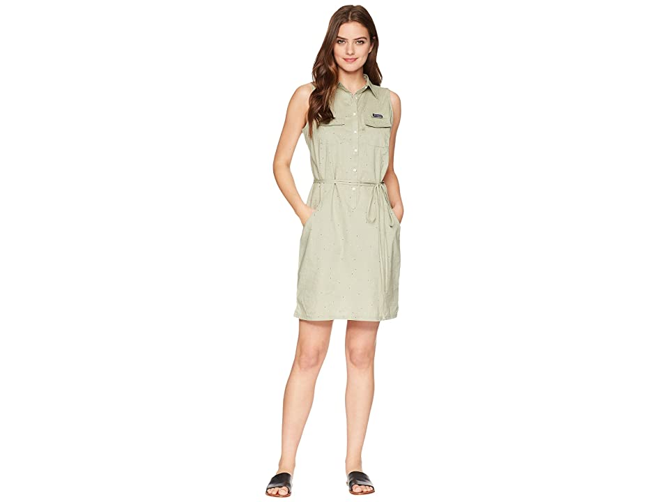 Columbia Super Boneheadtm II Sleeveless Dress (Safari Swiss Dot) Women