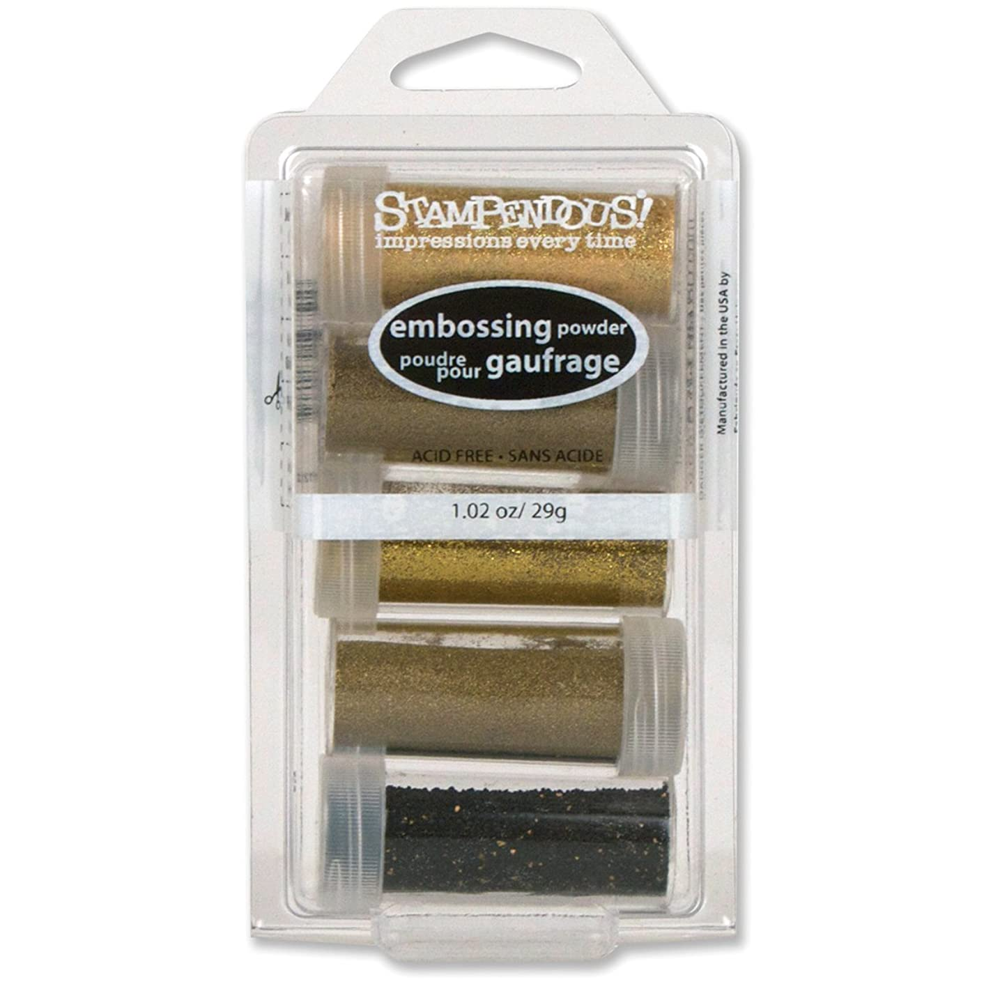 Stampendous Embossing Powder Kit, Glamour, 5-Pack