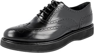 Prada Women's 1E526G X6O F0002 Full Brogue Leather Business Shoes