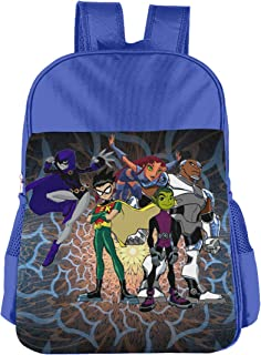 Teen Titans Children's Bags Kid School Bag Boy Girl Backpack