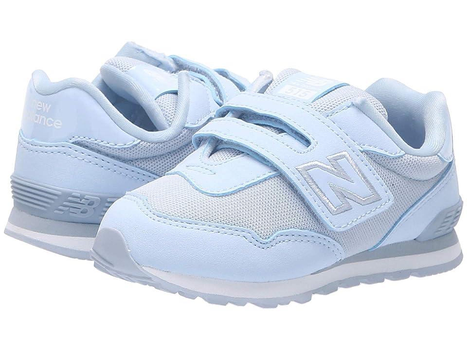 New Balance Kids KA515v1I (Infant/Toddler) (Ice Blue/Silver) Kids Shoes