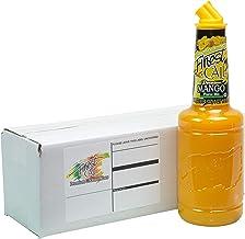 Finest Call Premium Mango Fruit Puree Drink Mix, 1 Liter Bottle (33.8 Fl Oz), Individually Boxed
