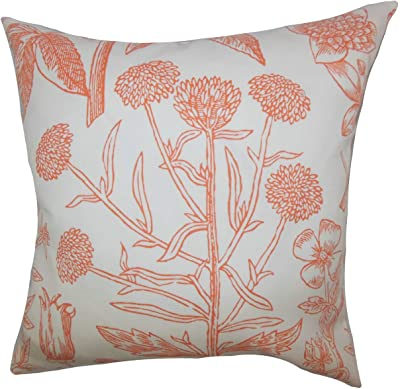 Amazon Com Pillow Perfect Outdoor Indoor Monserrat Montifleuri Sangria Throw Pillows 18 5 X 18 5 Red 2 Pack Home Kitchen
