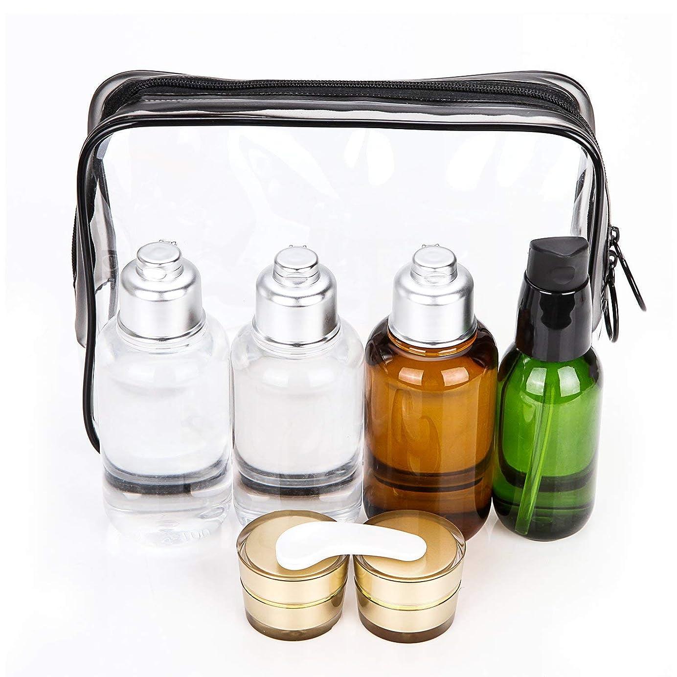 Bijou Cat トラベル用ボトル 詰替ボトル シャンプーボトル 旅行携帯用容器