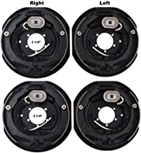 2 Sets 12x2 Electric Trailer Brake Assembly for 7000 lb Axle Trailers 12