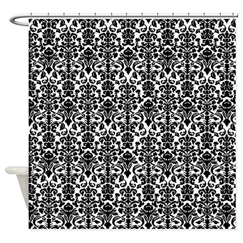 Best Black and White Damask Shower Curtain Reviews cover image