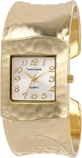 Vernier Women's VNR1830 Hammered Bangle Watch