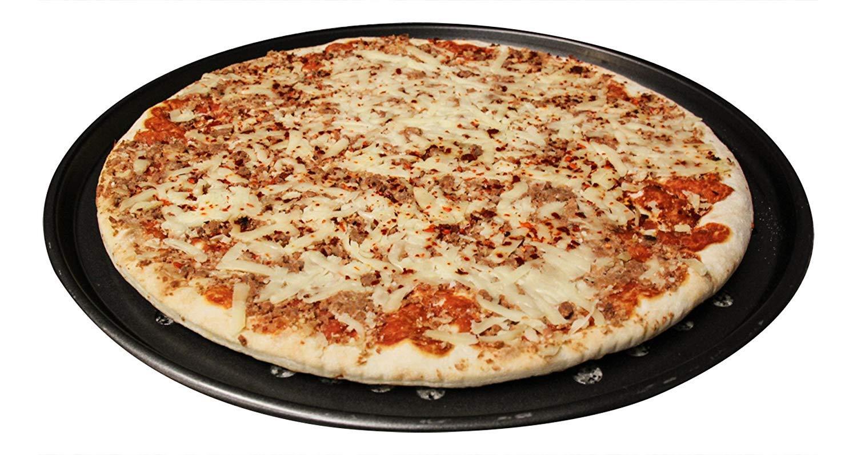 Pack 2 Bandejas pizza antiadherente 33 cm Bandeja de horno con orificios | Calidad Profesional: Amazon.es: Hogar