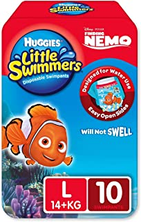 Huggies Little Swimmers Nappy Pants Large (14+ kg) 10 Pack