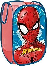 ARDITEX Spiderman Panier de Rangement, Polyester, Rouge, 36 x 36 x 58 cm