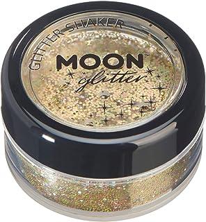 Agitadores de Brillo Holográfico por Moon Glitter - 100% Brillo Brillo Cosmético para la Cara Cuerpo Uñas Cabello y Lab...