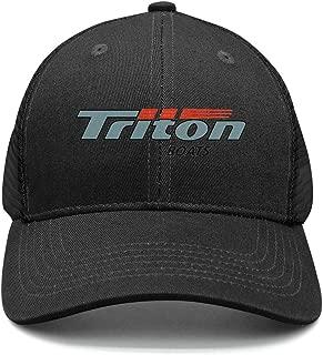 Triton Boats Flat Cap Curved Fit Hat