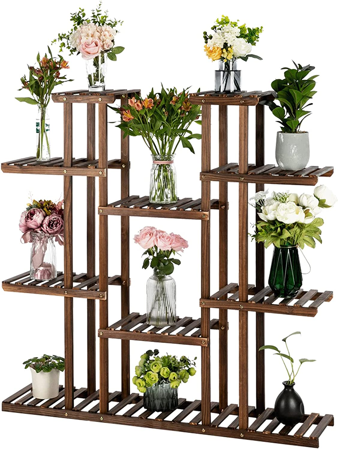 Aweand Plant Stand Indoor Ranking TOP20 Outdoor Shelf 40% OFF Cheap Sale Large Wood Multi