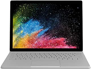 Microsoft Surface Book 2 2-in-1 Laptop - Intel Core i7-8650U, 13.5 Inch Touchscreen, 1TB SSD, 16GB RAM, 2GB VGA, English Keyboard, Windows 10 Pro, Silver - MSB21TB