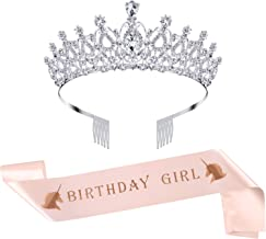 Best rhinestone birthday crown Reviews