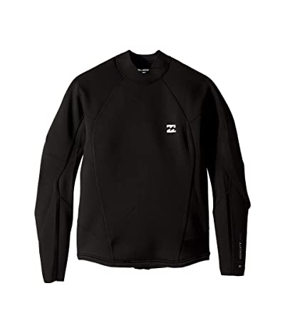 Billabong 202 Absolute Compression Long Sleeve (Black/Silver) Men
