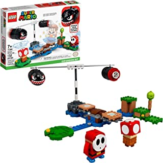 LEGO Super Mario Boomer Bill Barrage Expansion Set 71366 Building Kit; Toy for Kids to Add to Their Super Mario Adventures with Mario Starter Course (71360) Playset, New 2020 (132 Pieces)