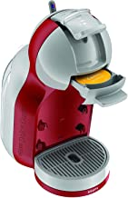 Krups Nescafe Dolce Gusto KP120540 Mini Me Coffee Machine, 1500 W, Red and Grey