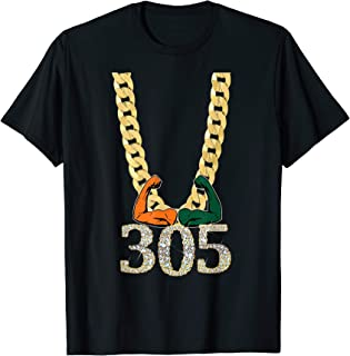 Miami Football 305 T-Shirt