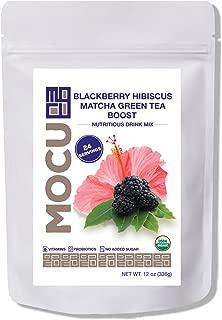MOCU Blackberry Hibiscus Matcha Sweet Tea Drink Mix