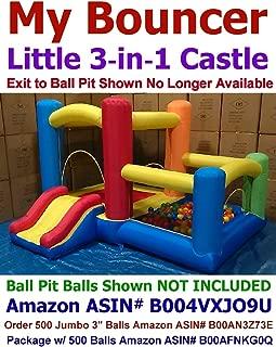 My Bouncer 3-in-1 Little Castle Bounce 118