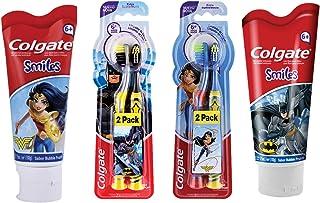 Pack Pasta Dental + Cepillo Colgate Smiles Liga de la Justicia