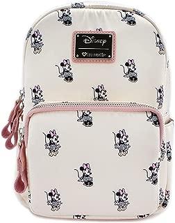 x Minnie AOP Satin Backpack, Cream, Medium