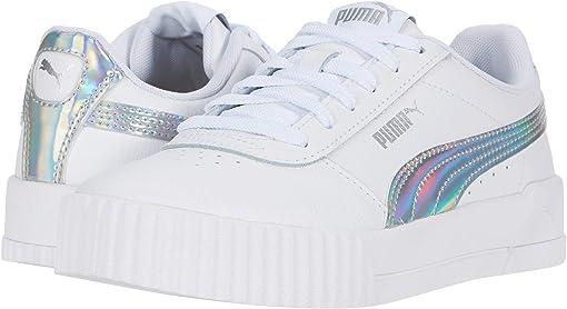 Puma White/Puma Silver