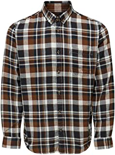 Only /& Sons Onssilo SS Solid Reg Viscose Shirt Chemise Homme