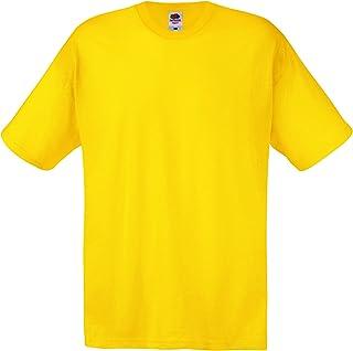 4dfde6dbd5445 Amazon.co.uk: Yellow - Tops, T-Shirts & Shirts / Men: Clothing