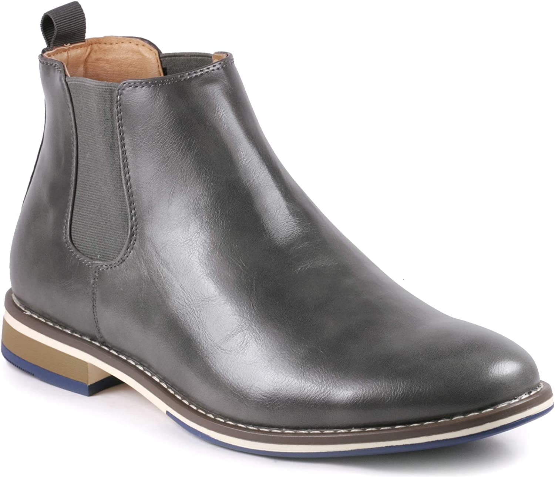 Metrocharm MC130 Men's Formal Dress Casual Ankle Chelsea Boot