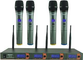 Freeboss FB-V04 4 Handheld Vhf Wireless Microphone