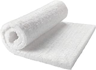 "Lynn Manufacturing Kaowool Ceramic Fiber Insulation, 1/2"" Thick x 12"" x 24"", 2400F Fireproof Insulation Blanket, 3013E"