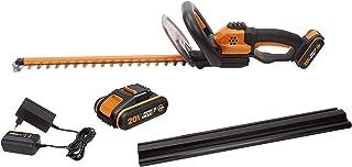 Sponsored Ad – WORX WG261E.1 18V (20V MAX) Cordless 45cm Hedge Trimmer with 2 Batteries