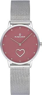 Radiant heart Womens Analog Quartz Watch with Stainless Steel bracelet RA540601