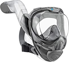 Seaview 180° V2 Full Face Snorkel Mask with FLOWTECH Advanced Breathing System - Allows for A Natural & Safe Snorkeling Ex...