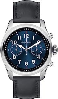 Montblanc - Reloj Montblanc Summit 2 Smartwatch 119440 Acero Inoxidable Piel Negra
