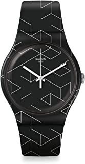 Swatch Cnosso Quartz Movement Black Dial Men's Watch SUOB161