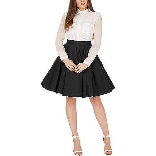 d4025602599fd BlackButterfly Vintage Full Circle 1950's Skirt