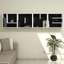 Bravo Love Letter Wall Shelf, White - 49 cm x 197 cm x 22 cm 8681285934789