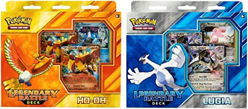 Pokemon TCG: Legendary Battle Decks, Lugia & Ho-Oh Bundle